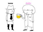 alcohol dad jutard koala_tea mom request rule63 typo