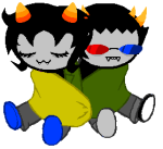 image_manipulation lemon_lime nepeta_leijon poffinu redrom shipping sleeping sollux_captor sprite_mode