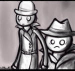 ace_dick grayscale kompepperochu pickle_inspector problem_sleuth_(adventure)