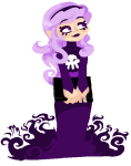 black_squiddle_dress book pixel poffinu rose_lalonde solo