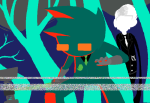 crossover dave_strider deleted_source four_aces_suited image_manipulation john_egbert land_of_wind_and_shade moved_source pogo_hammer rlabs slenderman trees wise_guy_slime_suit