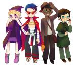 alpha_kids cosplay crossover dirk_strider eunnieboo gainax halloweenstuck indiana_jones jake_english jane_crocker roxy_lalonde sherlock_holmes tengen_toppa_gurren_lagann
