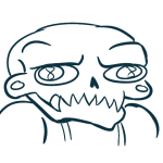 figsnstripes headshot lineart lord_english reaction solo