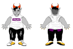 alternate_hair cronus_ampora dancestors fashion furrylatula non_canon_design solo twitter