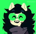 blush dogtier godtier headshot jade_harley nekurothings solo space_aspect witch