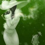 bq elanorpam jack_noir smoking snowman spades_slick