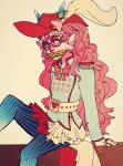 chocolatula dream_ghost feferi_peixes heart rear_admiral_attire solo stars trickster_mode