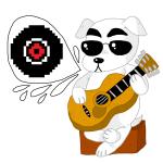 animal_crossing crossover dave_strider instrument kicksatanout kid_symbol nintendo punstuck solo word_balloon