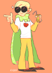 apple_juice ccin dave_strider godtier knight non_canon_design solo trickster_mode