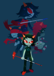 blindfold blood crying dragon_cane dragon_cape faygo koroke legislacerator_suit scalemate_boxers solo terezi_pyrope