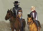 animals au bro dave_strider disney hat lil_cal no_glasses parody pixar toy_story tricotee western