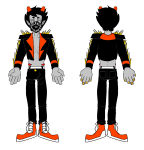 dancestors fashion furrylatula huge kankri_vantas mask non_canon_design solo twitter