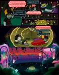 ! alternia comic glacial_treetrudger hiveswap joey_claire lusus recuperacoon sleeping sourischicot word_balloon xefros_tritoh