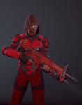 3d aradia_megido crossover gun humanized petrosyanengeniy solo xcom