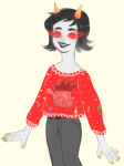casual crossover fashion gumbuns holidaystuck solo sweet_bro_and_hella_jeff terezi_pyrope