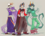 blood_aspect crossover godtier heir knight lord mind_aspect my_hero_academia rage_aspect syblatortue trollified