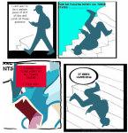 comic crossover image_manipulation it_keeps_happening meme nintendo pokémon stairs sweet_bro_and_hella_jeff zlukaka