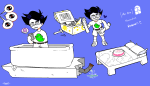 act_1 bathtub bed blindodi cake fake_arms huge john_egbert magic_chest starter_outfit twitter