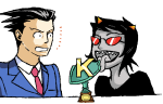 ace_attorney crossover licking planetofjunk terezi_pyrope trophy