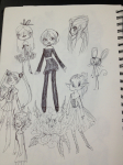 art_dump fashion grayscale hetalia kanaya_maryam rose_lalonde sailor_moon sketch skye-bird