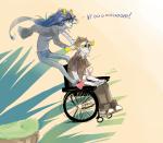 artificial_limb guzusuru tavros_nitram vriska_serket wheelchair