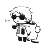 crossover dave_strider freckles invader_zim over-the-top solo
