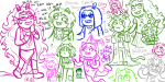 ! art_dump blush catfish dancestors dogtier dream_ghost equius_zahhak eridan_ampora fanzanna feferi_peixes godtier going_rogue heart heart_aspect hope_aspect jade_harley jake_english jasprosesprite^2 karkat_vantas meulin_leijon nepeta_leijon no_hat no_mask octopussy on_stomach page redrom rogue roxy_lalonde shipping sprite text void_aspect zodiac_symbol
