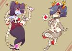 cosplay fefairi feferi_peixes halloweenstuck skullgirls vriska_serket word_balloon