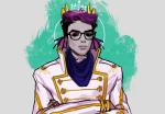 antibiscuit aspect_symbol crown eridan_ampora fashion formal profile solo