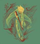 elanorpam grandma hunting_rifle limited_palette solo