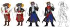 ? au bong_water damara_megido dancestors eridan_ampora fashion jewelry piratestuck shipping sketch tankefunken
