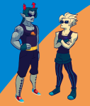 clothingswap dirk_strider equius_zahhak hoofbeastly