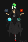 dogtier godtier hanna-cepeda jade_harley planets solo wip witch