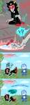 ! ? chalk chalkzone clouds comic crossover dave_strider deleted_source moved_source terezi_pyrope trees zamii070