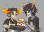 cake food gamzee_makara pbj salihombox shipping tavros_nitram