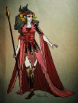 ageswap aradia_megido au fashion formal hemostuck roachpatrol solo
