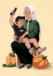 fashion grandma jake_english merupuri pumpkin