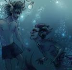 clarrisa eridan_ampora gamzee_makara merfolk redrom seaweed shipping underwater