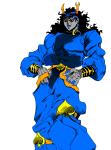 cosplay crossover hippocrit jojo's_bizarre_adventure musclestuck no_glasses solo vriska_serket