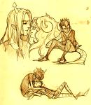 aradia_megido equius_zahhak eridan_ampora gamzee_makara iron_maiden kiss kitkaloid pbj redrom shipping tavros_nitram