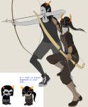 bow dancestors equius_zahhak horuss_zahhak spoochiteatime text zahhaks