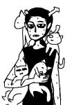 arijandro carrying cats equius_zahhak no_glasses sweat