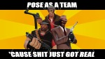 crossover fedora handgun masterlegodude meme pose_as_a_team problem_sleuth_(adventure) team_fortress_2