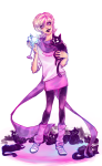 arcstuck cats cocktail_glass meowcats roxy's_striped_scarf roxy_lalonde solo starter_outfit vodka_mutini