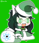 dogtier fate fate_extra holidaystuck jade_harley kid_symbol meme michelle_egbert parody solo source_needed