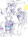 aqua_fortis art_dump blush dancestors dream_ghost feferi_peixes hiveswap horuss_zahhak jude_harley no_glasses redrom shipping sketch wiki2world