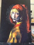 fine_art girl_with_a_pearl_earring godtier horrorterrors light_aspect pastiche real_life rose_lalonde seer sixofclovers solo
