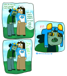 ! abessivelyelegant comic crying jade_harley minecraft nepeta_leijon word_balloon
