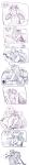 blush comic equius_zahhak eridan_ampora ghostlyfruitgushies kiss redrom seahorse shipping word_balloon