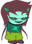 fusion image_manipulation land_of_thought_and_flow solo sprite_mode terezi_pyrope therealslimimpulse